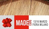 Siamo in Fiera, al Made di Milano dal 13 al 16 marzo 2019