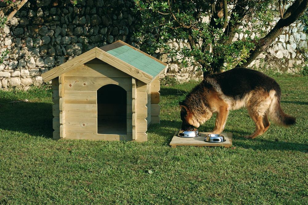 Legnolandia arredo giardino cuccia per cani - Giardino per cani ...