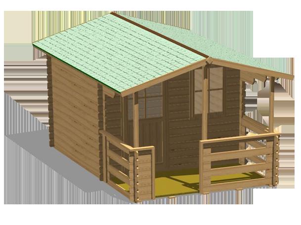Legnolandia arredo giardino casette in legno for Disegni veranda anteriore