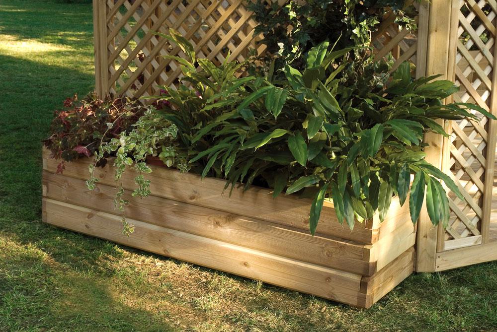 Fioriere per arredo giardino arredamento per giardini for Sassi per fioriere
