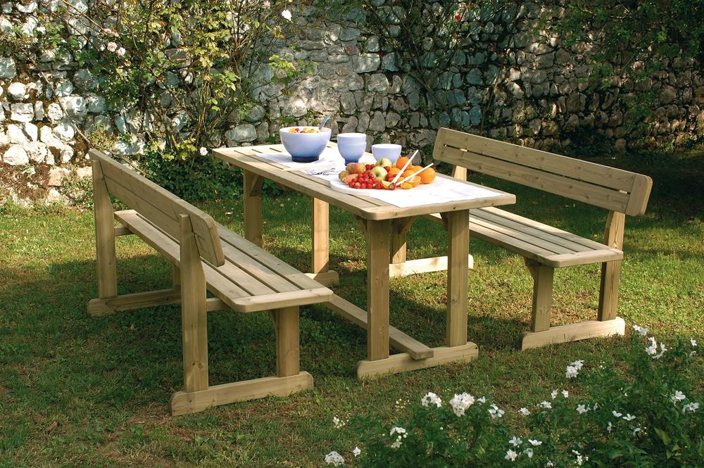 Legnolandia arredo giardino set bellavista for Arredo garden